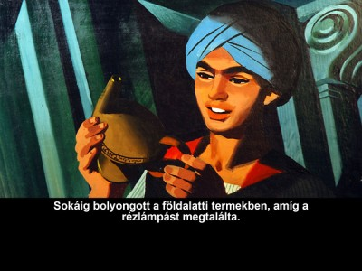 Aladdin és a csodalámpa - Diafilm