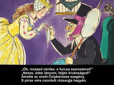 Grimm testvérek: Csipkerózsika - Diafilm
