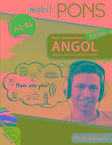 PONS MOBIL NYELVTANFOLYAM - ANGOL EXTRA (KÖNYV+2CD)