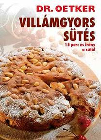 DR. OETKER - Villámgyors sütés - 15 perc és irány a sütő
