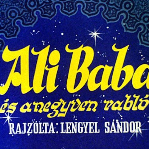 Ali baba és a negyven rabló - Diafilm