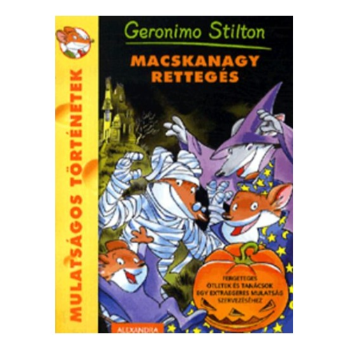 Geronimo Stilton: Macskanagy rettegés