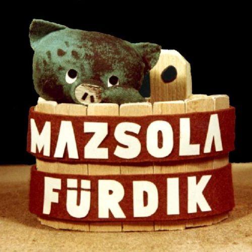 Mazsola fürdik - Diafilm