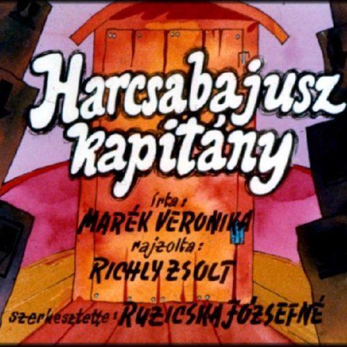 Marék Veronika: Harcsabajusz kapitány - Diafilm