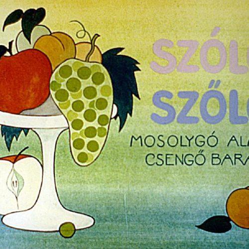 Szóló szőlő, csengő alma, mosolygó barack - Diafilm