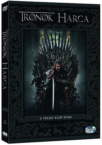 Trónok harca - A teljes első évad - DVD
