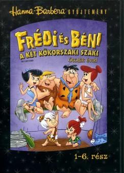 Frédi és Béni 5.évad 1.lemez 1-6.rész - DVD