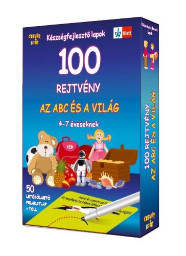 100 rejtvény – Az abc és a világ – 4-7 éveseknek