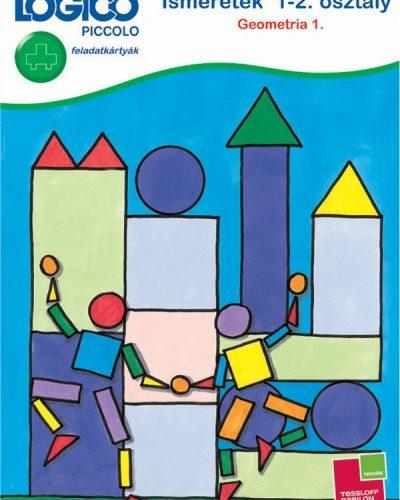 Logico Piccolo 3446 - feladatkártyák - Ismeretek 1-2. osztály: Geometria 1.