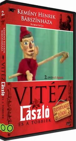 Vitéz László II. - 4-7. epizód - DVD